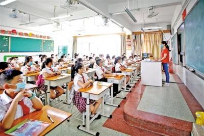 宝安区五年将新增20余万个公办义务教育学位