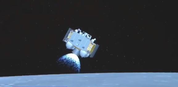 我國在月球首次實現國旗獨立展示!