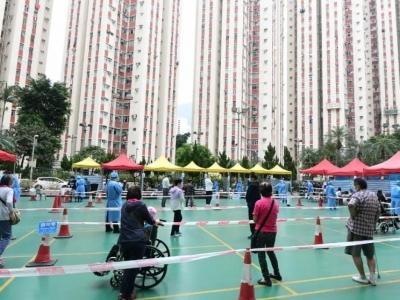香港丽晶一单元犹如淘大翻版 居民连夜强制撤离 !