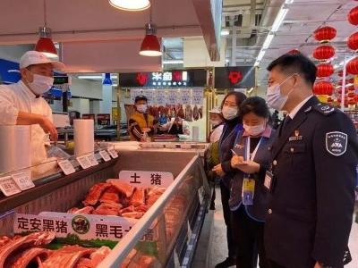 市市场监管局福田局华强北所组织开展食品安全检查行动