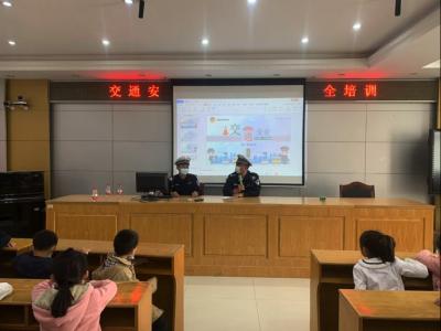 福永街道交通安全宣传进校园