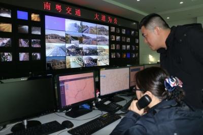 """10秒内告警车辆异常,韶赣高速上线""""两客一危""""智能监测系统"""