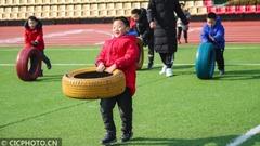 江苏淮安:多彩体育 欢乐相伴