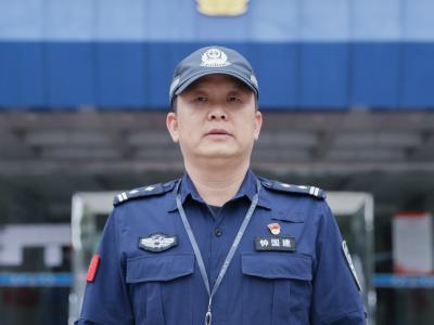 每日警星 钟国建:精心培育警务尖兵