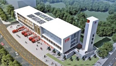 圳美消防站项目开工建设  进一步完善全区消防救援网点布局