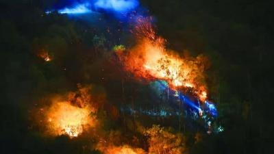 【全程高能】记录深圳大南山火灾的315分钟
