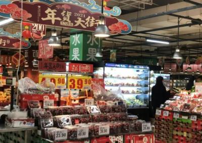 """留深开心过大年:春节肉价 """"飞""""不起来,快递不打烊放心买"""