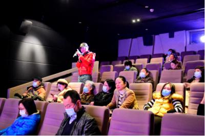 """李亚威做客""""我的红色电影课堂""""第五课 畅谈影片《鹰笛·雪莲》拍摄的幕后故事"""