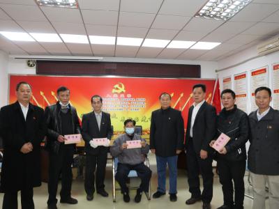 心系困难党员,深圳市个私协会党委开展新春慰问活动