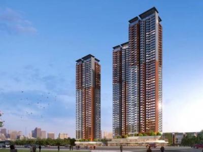 龙岗两人才住房项目同步封顶,建成后可供人才房1800套