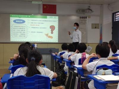 深圳法律志愿者走进社区学校,去年服务超过6000小时