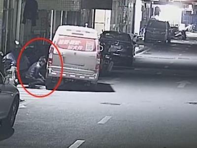 """深圳男子被人""""针对""""扎破车胎,嫌疑人竟是邻居"""