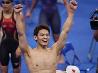 国际泳联正式确认徐嘉余等人中国男女混合接力世界纪录