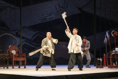 《名优之死》登上首都剧场:京剧不老,话剧出新