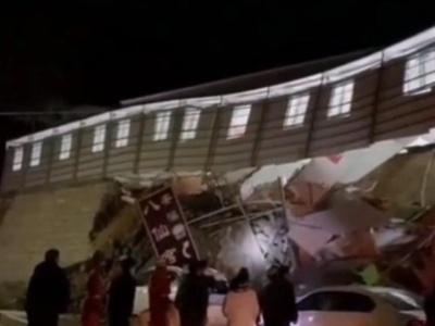 福建安溪一温泉洗浴场边坡发生溜方事故 造成9人受伤