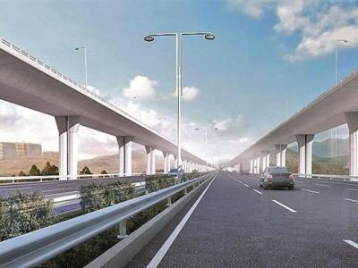 机荷高速公路将变身双层通道  改扩建后通行能力预计增加167%