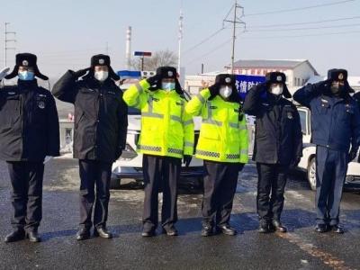 黑龍江呼蘭區警察全員抗疫!啟動最高等級勤務模式
