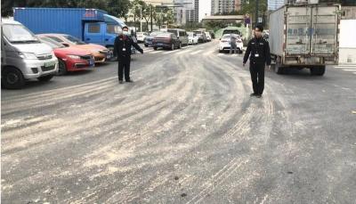 罚款4万余元!凤凰街道开出今年首宗路面污染罚单