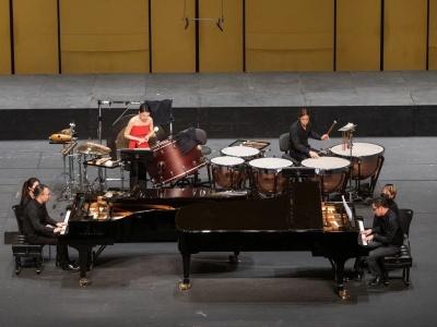 当双钢琴遇上打击乐,这是怎样一版有趣的《春之祭》