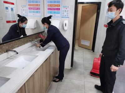 公明加強公廁專項督導檢查