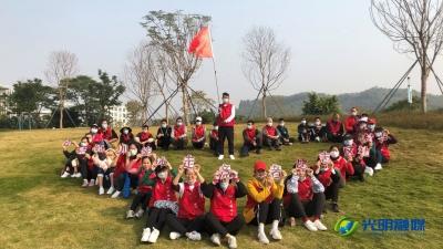 """上村社区义工""""低碳竞走"""" 呼吁绿色环保出行"""