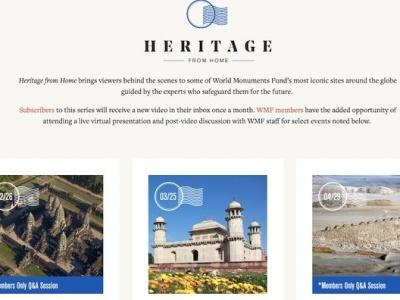 """世界文化遗产基金会推线上""""在家刷遗产""""活动,历史学家来解说"""