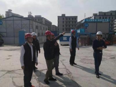 莲塘街道全方位开展春节节后复工复产大检查