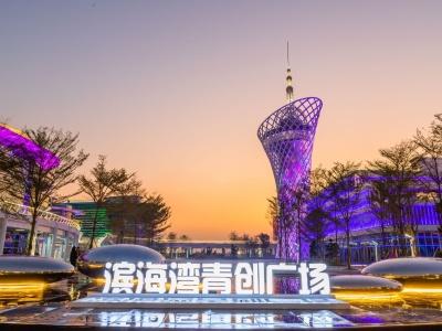 """东莞市滨海湾新区荣获""""最具投资价值新区"""""""