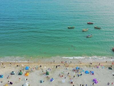 今日深圳:大鹏官湖,冷峻与热烈兼具