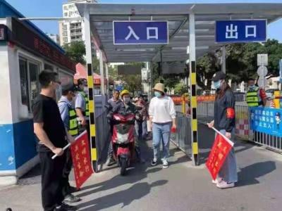 近500人齐上阵!福海街道交通文明劝导再升温