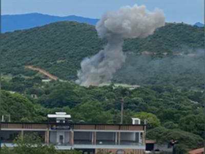 外媒:哥伦比亚军事基地爆炸致36伤,事发现场有11名美军