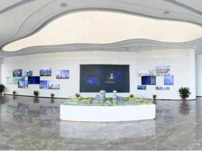 深汕湾机器人小镇锐博特创新基地展厅建成开放