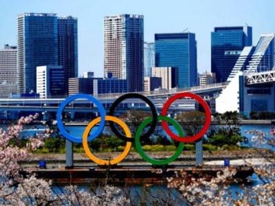 中国奥运代表团第二批成员抵达日本