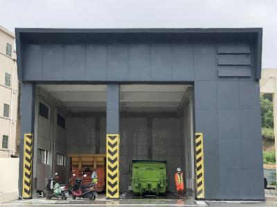 深汕合作区首个规范化垃圾中转站投入试运行