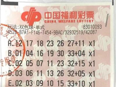 深圳彩民中双色球一等奖724万元