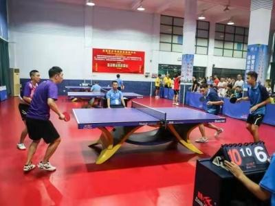 深圳市第十届运动会群体组乒乓球赛落幕!罗湖区队夺得桂冠
