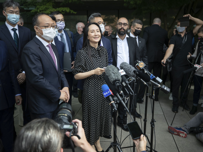 """环球时报:孟晚舟以""""不认罪""""方式获释,这很关键"""
